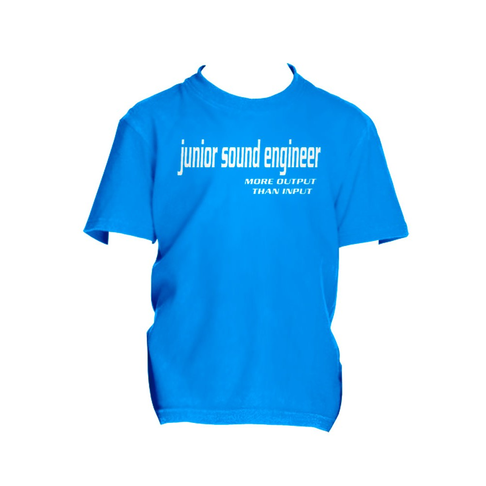 Boys T-Shirt - More Output Than Input